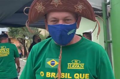 Dono da Havan visita obras de loja em João Pessoa e avalia implantação da empresa em Campina Grande