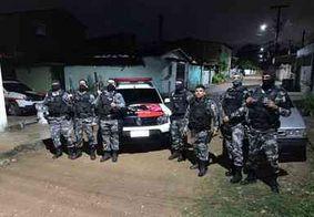 Polícia troca tiros com bandidos durante a madrugada em João Pessoa