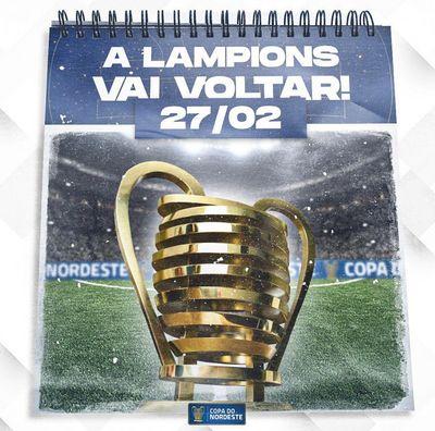 Copa do Nordeste 2021 tem data de início confirmada; confira
