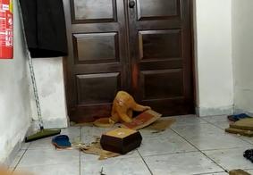 Vídeo: macaco foge da Bica e invade residência em João Pessoa
