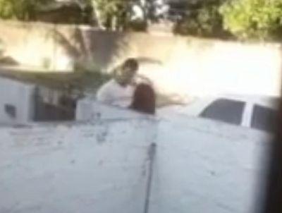 Vídeo   Mulher é agredida e ameaçada com arma de fogo pelo ex-marido