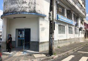Agência do INSS fica na Rua Barão do Triunfo