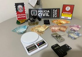 Grupo é preso com armas e drogas em municípios do interior da PB