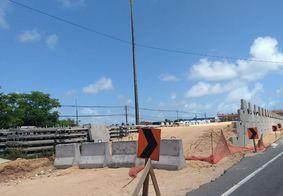 Obras na BR-230, em Cabedelo
