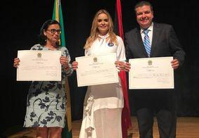 Diego Tavares agradeceu a senadora