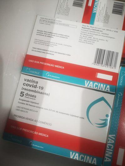 Paraíba recebe mais 91.150 doses da vacina Contra Covid-19