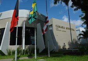 Câmara Municipal de João Pessoa, no Centro da capital.