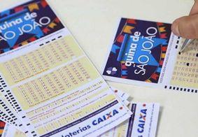Quina de São João sorteia R$ 200 milhões neste sábado (26)