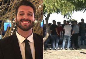Sepultado empresário que morreu em acidente após sair da festa de aniversário de Gkay