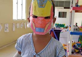 Crianças internadas no Trauma de João Pessoa recebem programação especial de carnaval