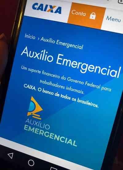 Caixa paga auxílio emergencial para beneficiários do ciclo 3