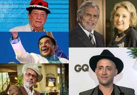 Além de Gilberto Braga, relembre 40 artistas que nos deixaram em 2021