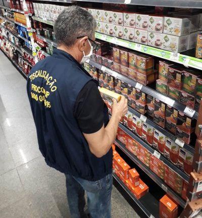 Seis supermercados de João Pessoa são autuados com mais de 200 produtos vencidos