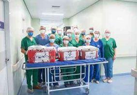 Setembro Verde: equipe médica realiza captação de órgãos no Hospital Metropolitano