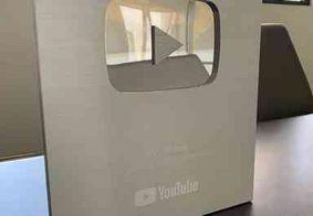 TV Tambaú alcança mais de 100 mil inscritos e recebe Prêmio Prata do YouTube