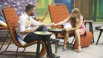 Carlaz Diaz e Gilberto no especial 'BBB Dia 101'