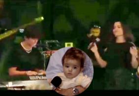 Filho de Ana Paula Valadão faz dueto com a mãe e web repercute