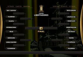 Veja os confrontos das oitavas na Taça Libertadores