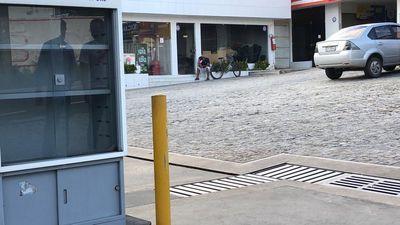 Posto de gasolina em João Pessoa