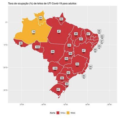 FioCruz recomenda lockdown na Paraíba para conter o avanço da covid-19