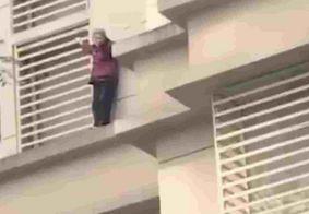 Vídeo: idosa com Alzheimer trancada em casa desce 9 andares pela fachada