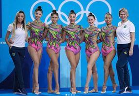 Ginástica rítmica do Brasil estreia na Olimpíada de Tóquio nesta sexta (6)