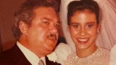Narcisa Tamborindeguy posta foto e relembra casamento com Boninho