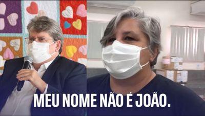 Governador da PB publica vídeo bem humorado após repercussão de semelhança com enfermeira