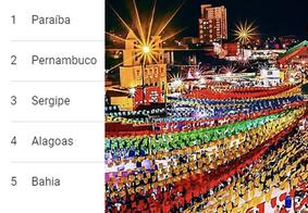 Paraíba lidera buscas pelo termo 'São João' na internet; confira