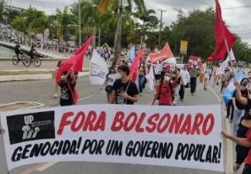 Atos em Campina Grande pedem impeachment de Bolsonaro