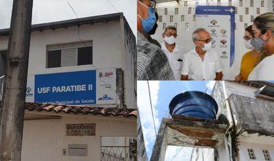 Unidade de Saúde interditada pelo CRM-PB recebe visita técnica e deve passar por reforma