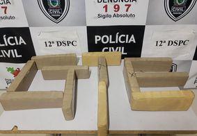 Polícia prende 3 suspeitos de tráfico com 10 quilos de drogas na Paraíba