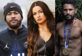"""Neymar flerta com Juliette, leva """"fora"""" e recebe """"bronca"""" de Ítalo"""