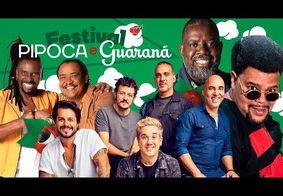 Péricles, É o Tchan, Babu Santana e Jota Quest se reúnem em Live: assista