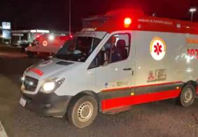Homem é socorrido em estado grave após atropelamento na BR-230, em João Pessoa