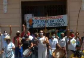 Na PB: artistas e profissionais da cultura se manifestam pedindo aprovação de lei com auxílio ao setor
