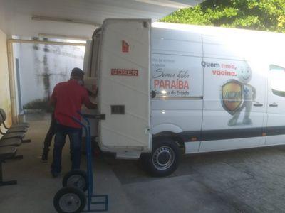 Paraíba distribui 59 mil doses de vacinas a 223 municípios