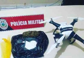 Drone com drogas é apreendido próximo a presídio de João Pessoa
