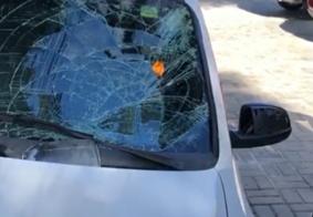 Vídeo: homem é jogado ao solo após ser atropelado no Centro de João Pessoa