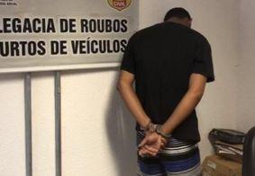 Suspeito foi encaminhado à Central de Polícia