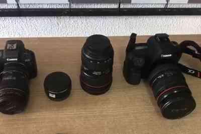 Suspeito de furto é preso com câmeras e lentes avaliadas em R$ 100 mil na Paraíba