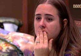 BBB18: Patrícia cai no choro ao ter seu voto revelado