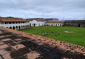 MPF alerta sobre risco de incêndio na Fortaleza de Santa Catarina na PB