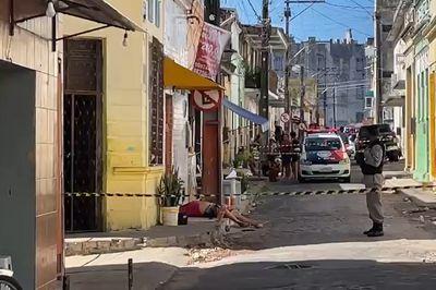 Homem é morto a tiros no Centro de João Pessoa