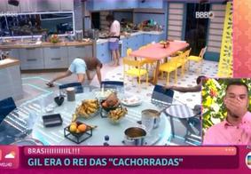 Gilberto acompanhou a participação no Big Brother