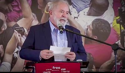 Lula diz que foi 'vítima da maior mentira jurídica em 500 anos de História'