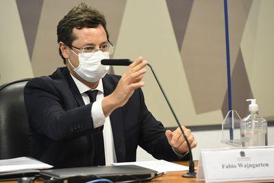 Fabio Wajngarten na CPI da Covid nesta quarta-feira (12)