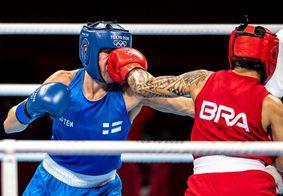 Pela primeira vez, Brasil garante duas vagas em finais do boxe em uma Olimpíada