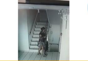 Novas imagens mostram fuga de mulher após matar companheira com 95 facadas