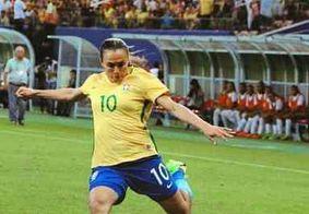 Com direito a gol e recorde de Marta, Brasil avança em 3º na Copa do Mundo feminina